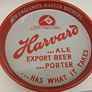 SOLD Vintage - Metal Tray - Harvard Brewing Co.