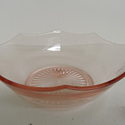 Vintage - Depression Glass - Bowl