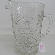 Vintage - Glass - Pitcher
