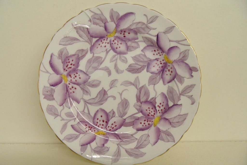 Vintage - Porcelain - Plate - Royal Chelsea