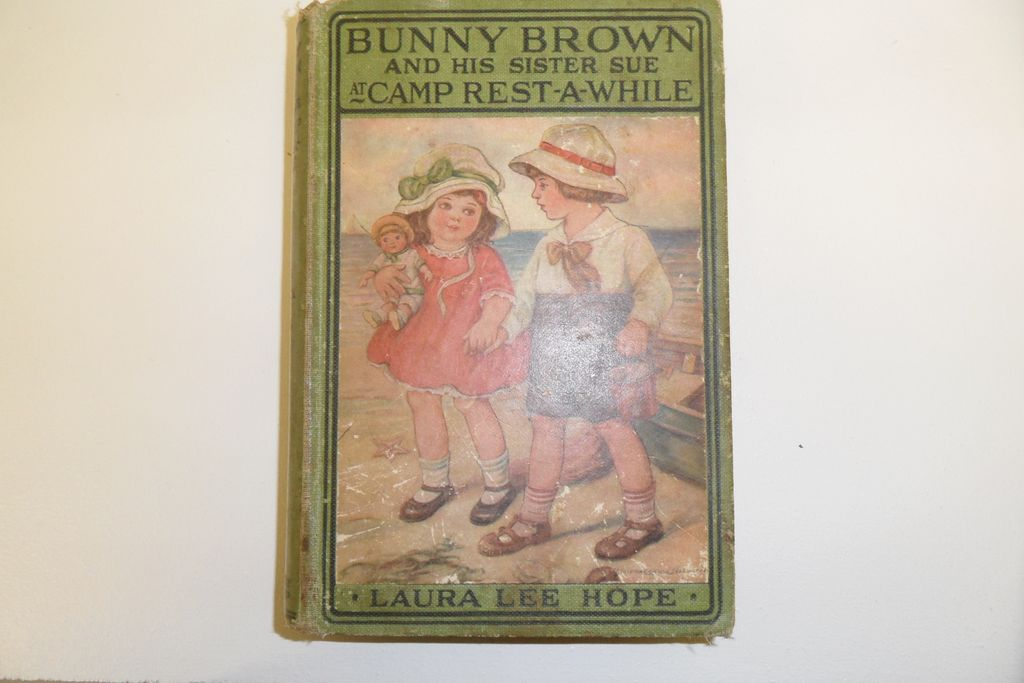 Vintage - Book - Bunny Brown and His Sister Sue at Camp Rest-A-While