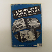 Vintage - Book - Editing and Titling Movies