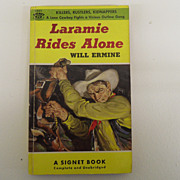 Vintage - Book - Laramie Rides Along