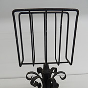 Vintage - Cast Iron Letter Holder