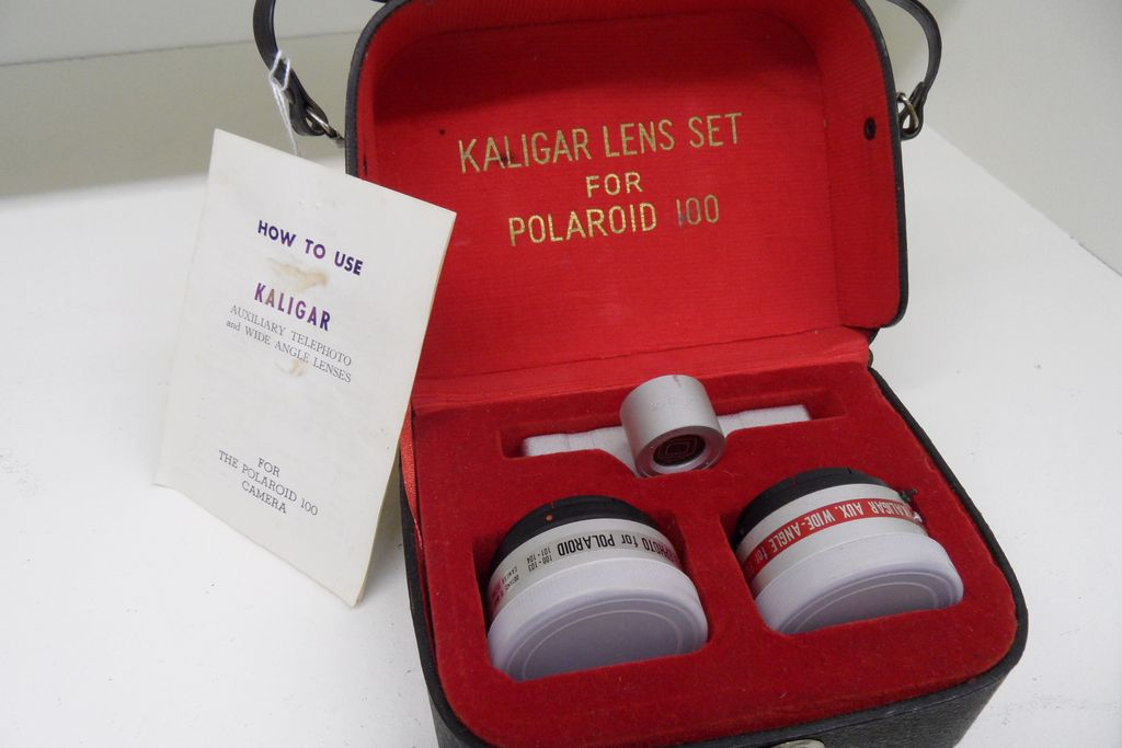 Vintage - Kaligar Lens Set for Polaroid 100