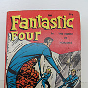 Vintage - Book - The Fantastic Four in The House of Horrors
