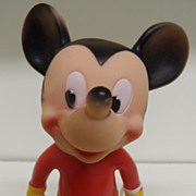 Vintage - Toy - Mickey Mouse - Sun Rubber - 1950's - MINT