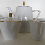 Vintage - Porcelain Tea Service for Six