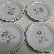 Vintage - Johann Haviland - Bavaria Germany - Set of 4 - Butter Pats