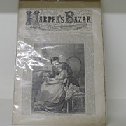 Harpers Bazaar Vol. 1, No. 29 - 1868