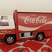 SOLD Vintage - Toy - Buddy L Coca Cola Delivery Truck