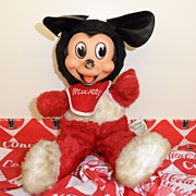 Vintage - Mickey Mouse - Stuffed - 1940's+