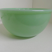 Vintage - Fire King - Glass - Jadite Green - Bowl