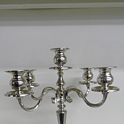 Vintage - Silver Plated - Candelabra