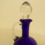 Vintage - Cobalt Blue - Cruet