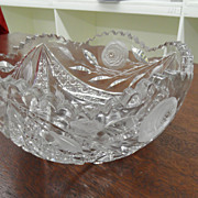 Vintage - Cut Crystal - Bowl
