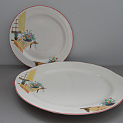 Vintage - Homer Laughlin - Platter