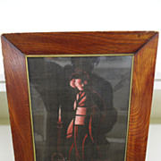 Vintage - Picture - Hand-Embroidered - Shadow - Asian