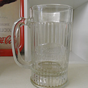 Vintage - Glass - Howell's Root Beer Mug