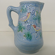 Vintage - Majolica - Pitcher - Highmount M.B.D. - Western Germany