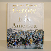 Vintage - Hard Cover Book - Currier & Ives America