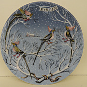 Vintage - Porcelain - Haviland Limoges - 1973 &quot;Four Loly Birds&quot;