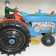 Vintage - Marx Reversible Tractor