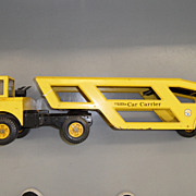 Vintage - Mighty Tonka Car Carrier - Yellow