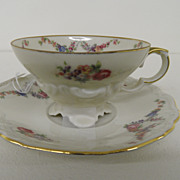 Vintage - Porcelain - Tea Cup and Saucer - Bavaria