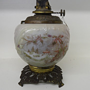 Antique - Oil Lamp