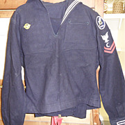 Vintage - WWII Navy SEABEES Uniform - complete!