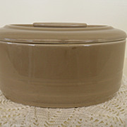 Vintage - Pottery - Hall - Hercules Leftover - Light Brown