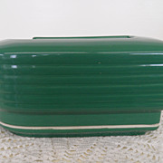 Vintage - Pottery - Hall - Hercules Leftover - Green