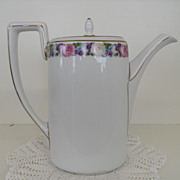 Vintage - Porcelain - Rosenthal Selb Bavaria - Covered Tea Pot
