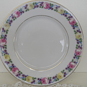 Vintage - Porcelain - Rosenthal Selb Bavaria - Dessert Plate 8&quot;