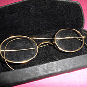 Antique - Eye Glasses - Windsor Style