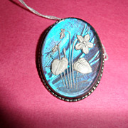 Vintage - Jewelry - Thomas L. Mott & Co. -  Butterfly Wing Pendant