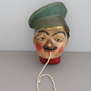 Vintage - Italian Cook String Holder or Twine Box