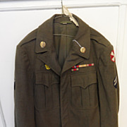 Vintage - WWII ARMY Corporal Jacket