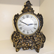 Vintage - Mantel Clock - Lanshire Clock Movement