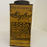 Vintage - Tin - Huyler's Cocoa