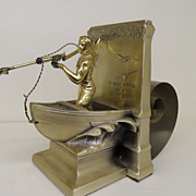 "Vintage - Book Holder/Statue - ""In Honor of the Whaleman"""