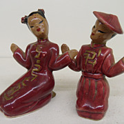 Vintage - Porcelain - Salt and Pepper - Japan