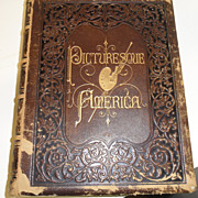 Antique - Book - Picturesque of America Vol. 1