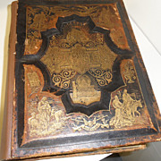 Antique - Book - Swedish Bible (Bibeln) 1889 Dore'  AJ Holman & Co.