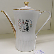 Vintage - Porcelain - Heinrich Bavaria - Teapot