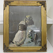 Antique - Picture - Gold Guilded Frame
