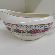 Vintage - Porcelain - J&G Meakin England - Gravy Boat