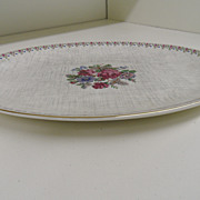 Vintage - Porcelain - J&G Meakin England - Platter