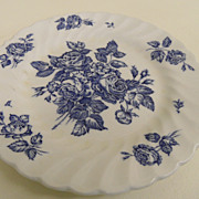 Vintage - Porcelain - Johnson Bros. - Devon Sprays - Plate